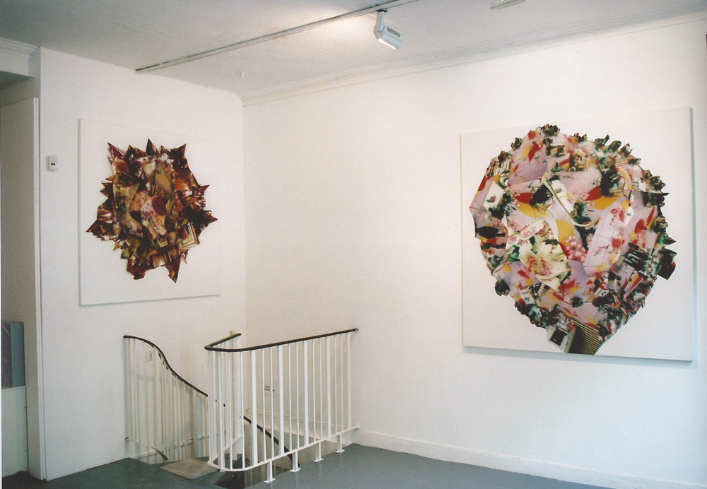 Recent Paintings , Yvonamor Palix Gallery, Paris 2003