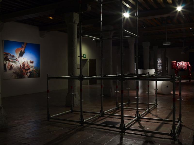 Poétique Du Chantier , Musée Chateau d'Annecy (FR)2009-2010.Curators Juliette Singer and Jean-Max Colard.