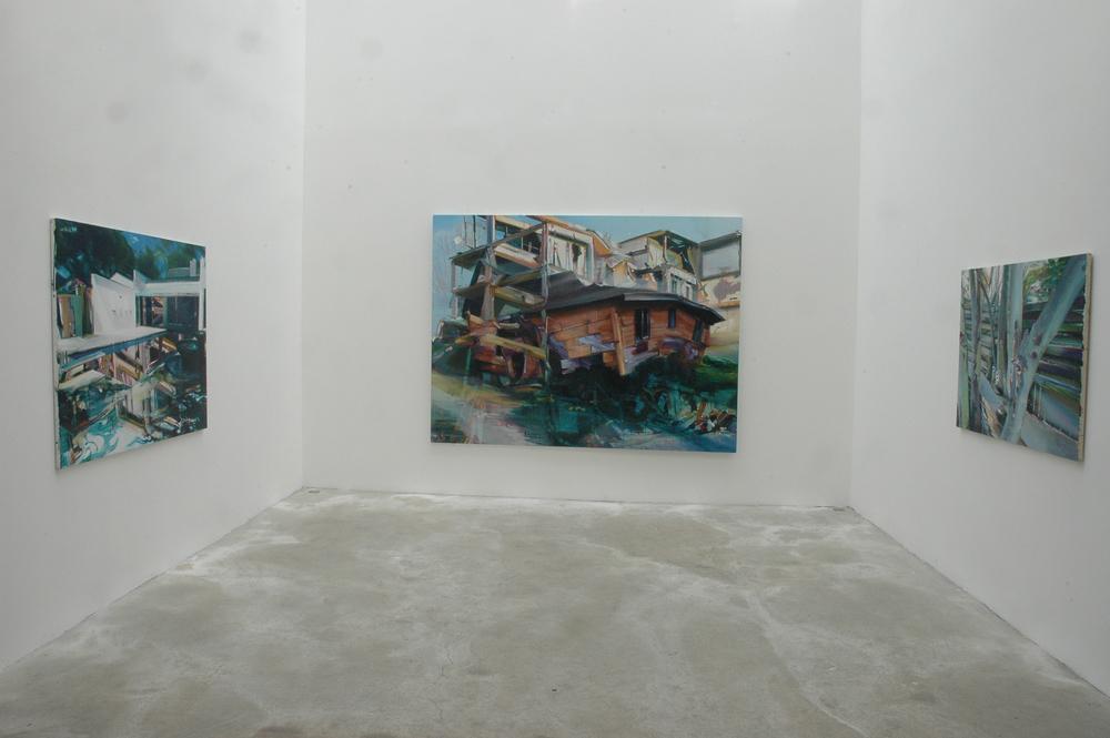Châteaux de Cartes, Dukan&Hourdequin Gallery,Marseille 2008