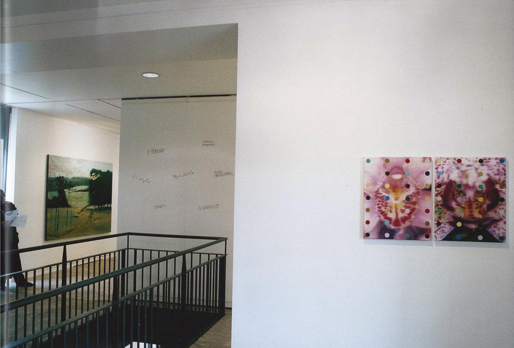 Etats de Peinture , Maison des Arts de Malakoff (FR)2003. Curator Philippe Piguet. Artists in view : Olivier Masmonteil, Duncan Wylie