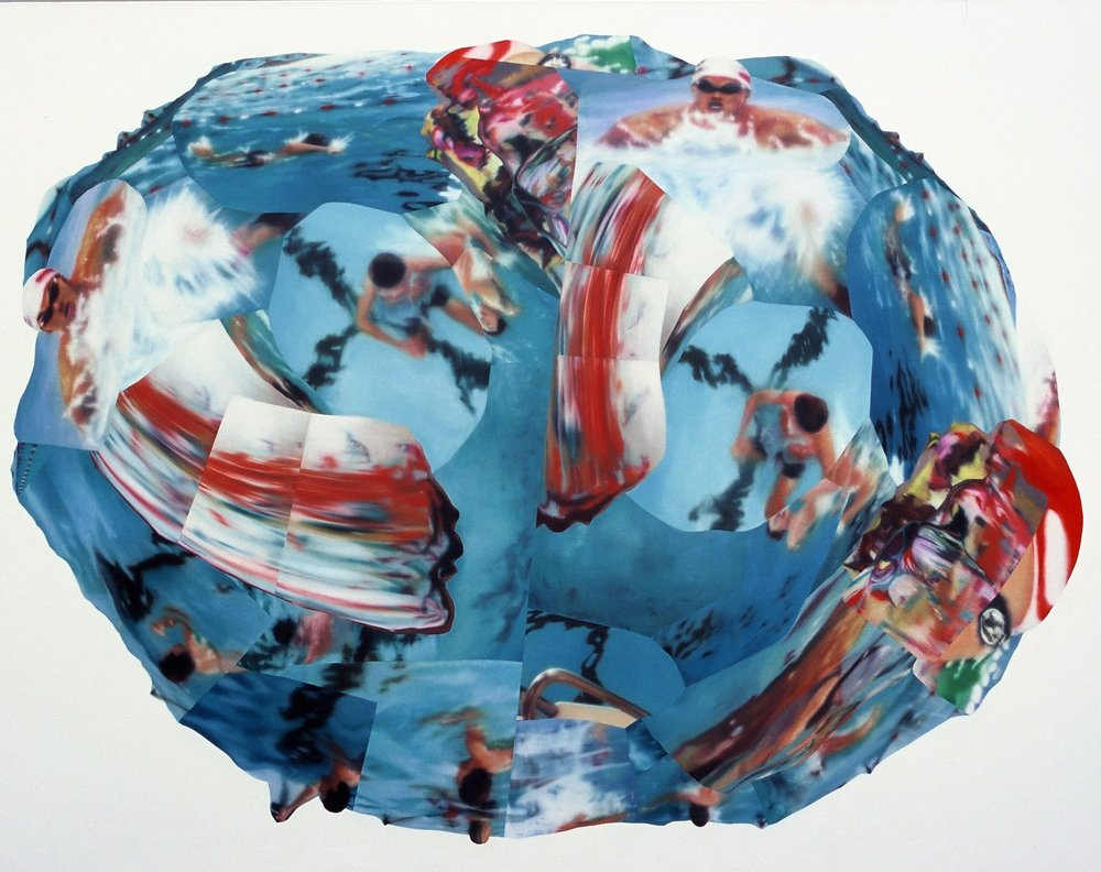 Bootylicious , 2004, oil on canvas, 305 x 235cm. Private collection, France