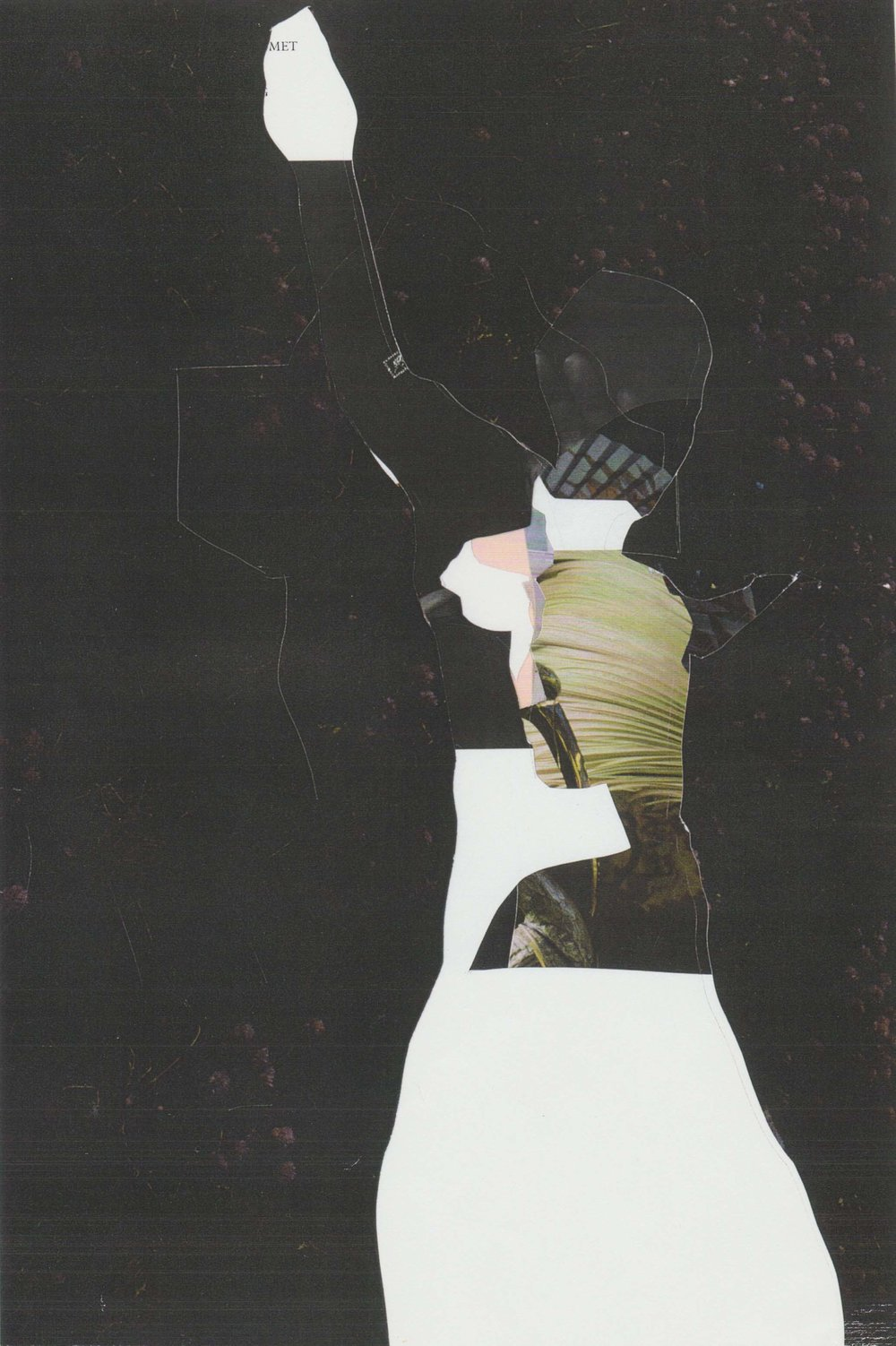 Scalpel drawings (cutting through images) , 2004.