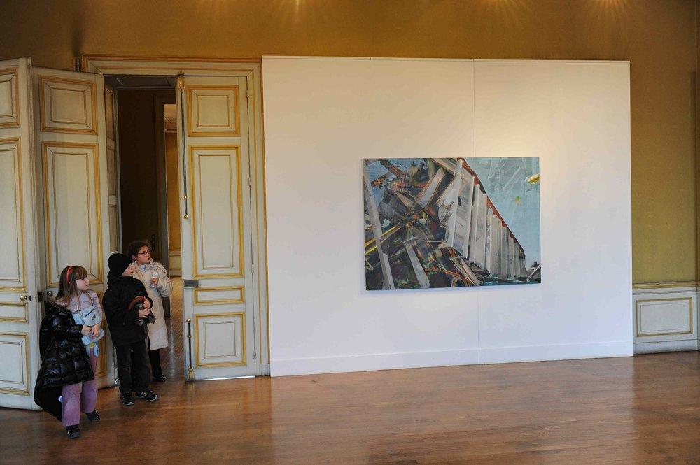 Des paysages, des Figures, Château de St Ouen, 2011.Curator Olivier Masmonteil