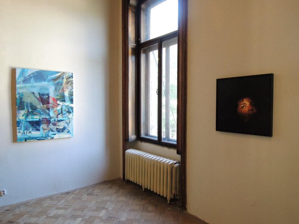 La Belle Peinture 2 , Bratislava (SK), Pisztory Palace.Curators : Eva Hober and Ivan Jançar.Artists in view: Duncan Wylie, Katia Bourdarel