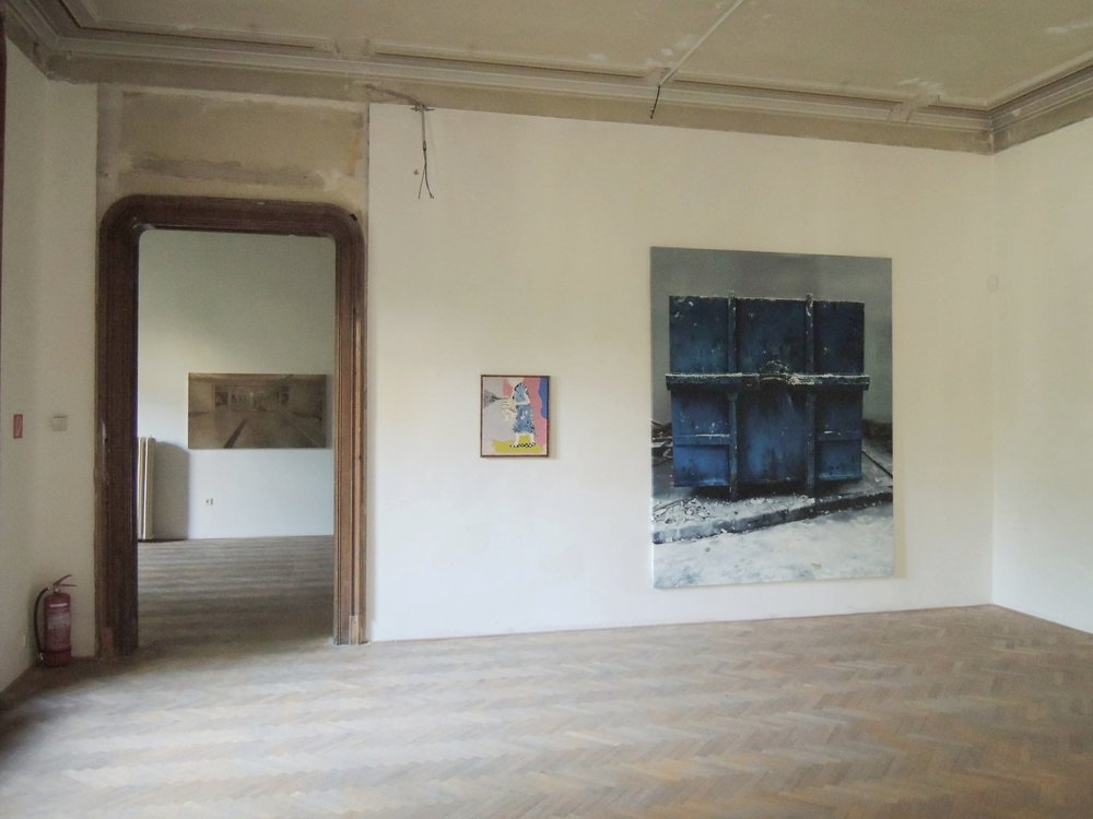 La Belle Peinture 2 , Bratislava (SK), Pisztory Palace.Curators : Eva Hober and Ivan Jançar.Artists in view: Guillaume Bresson, J.M Alberola, Youssef Kourichi