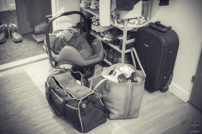 Tuo matkalaukku ei muuten ollut lähdössä mukaan tälle reissulle.