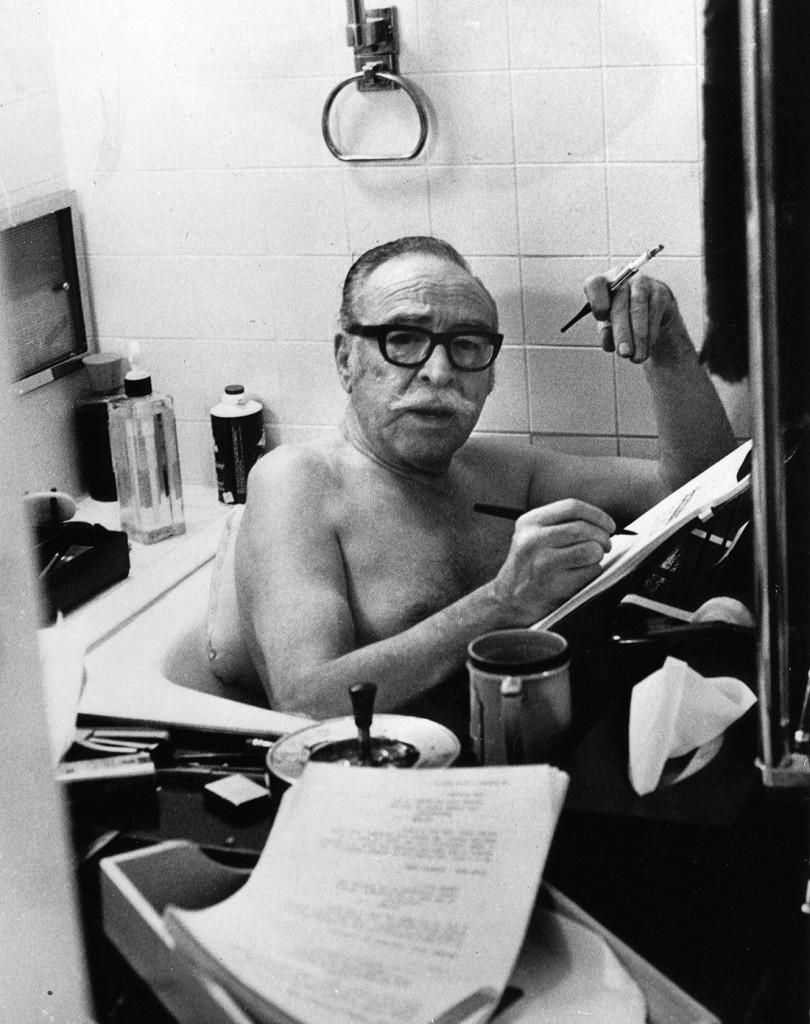 James Dalton Trumbo - Writing in the Tub