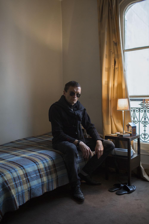 Sylvain Tesson for M, le Magazine du Monde