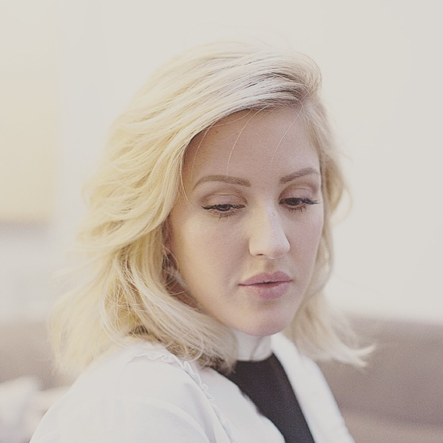 Pop star Ellie Goulding photographed at home in London for The New York Times
