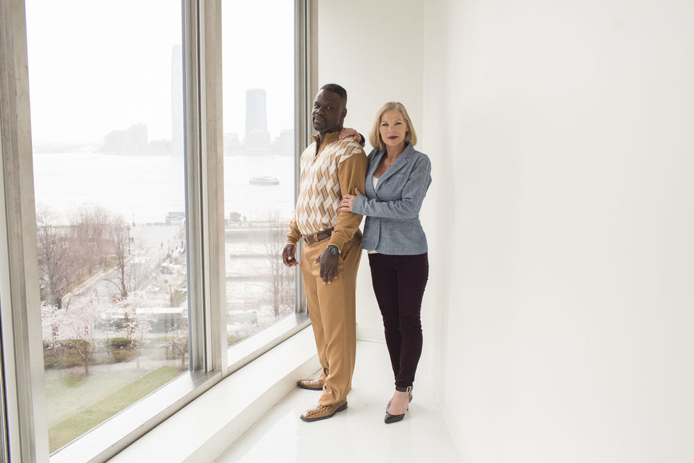Ian Manuel and Debbie Baigrie for People