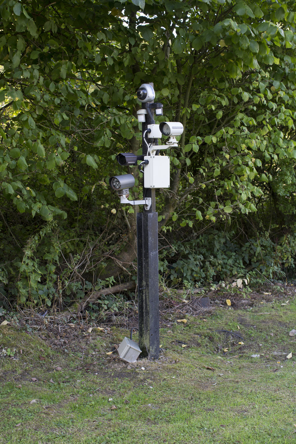 CCTV outside of Corsham Cellars in Wiltshire, which holds $2.2 billion in wine