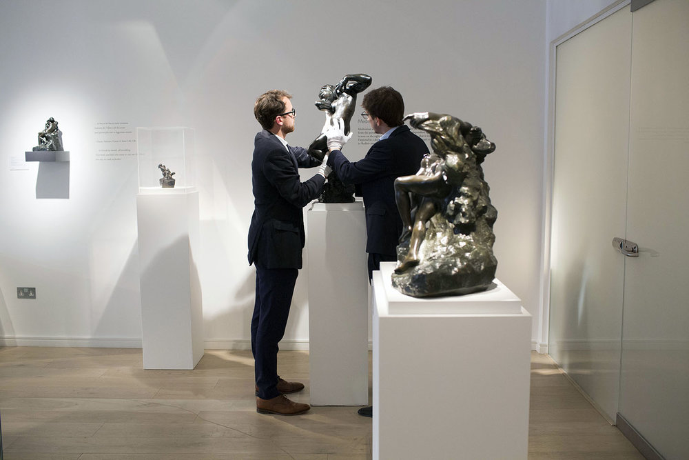 Bowman Sculpture in London for The New York Times