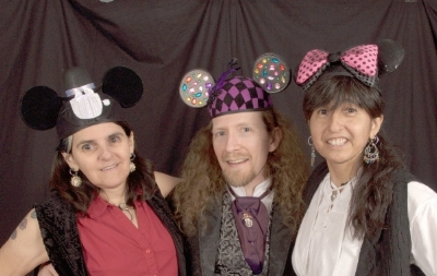 """limell', Nick, and CZ. These hats all have darling mouse ears. All the rage for certain """"Clubs"""" in 1957."""