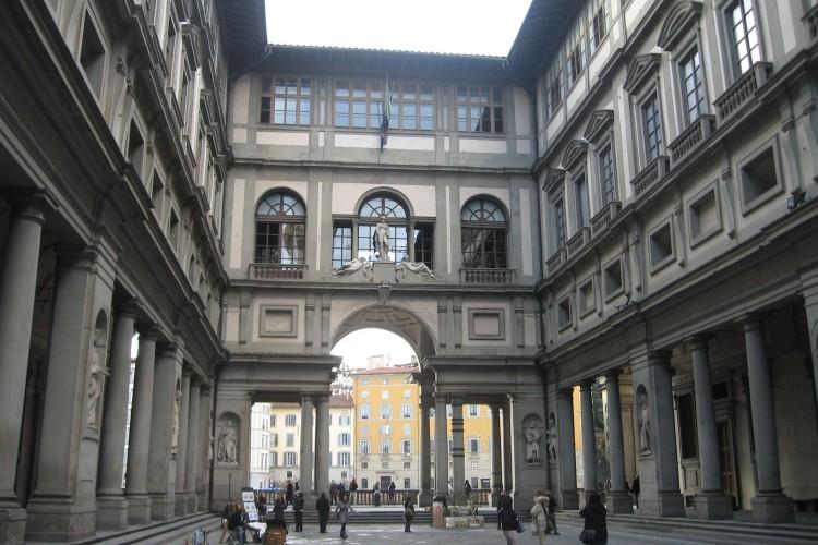 Uffizi Gallery, Florence.