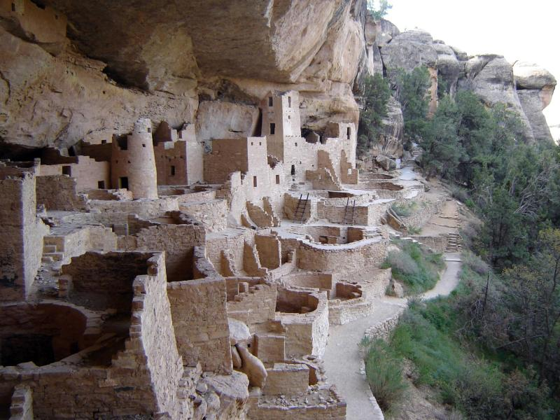 View of Cliff Palace, compliments of the National Park Service