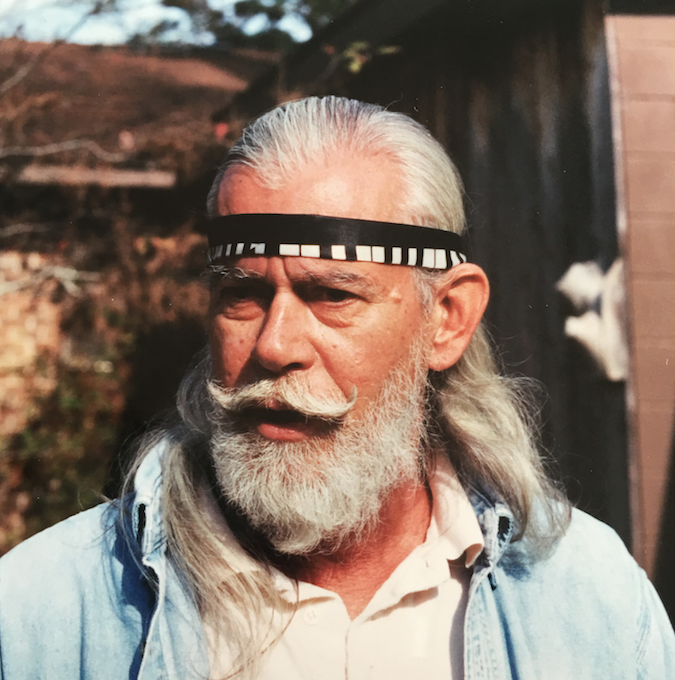 my dad: hippie, art collector & peace-lover