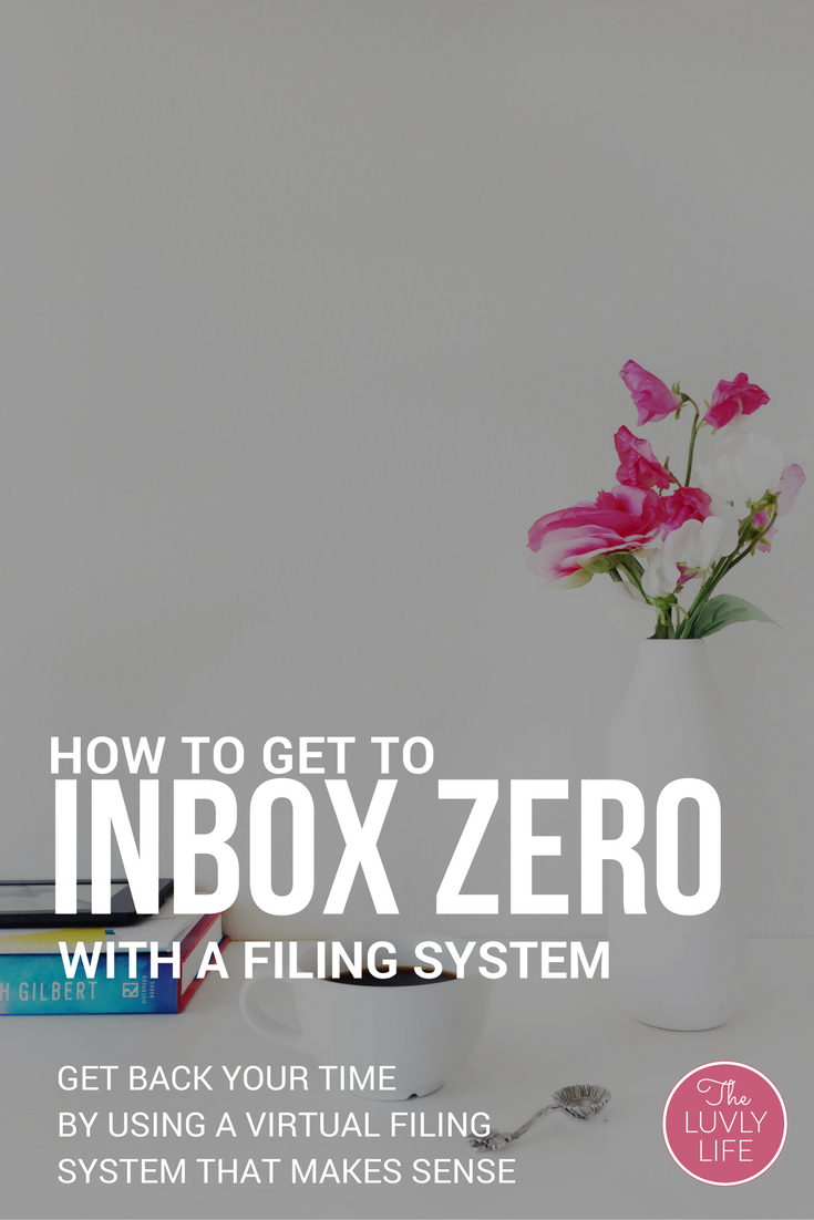 Learn how to create a virtual filing system to help organize your inbox and get to inbox zero in less than an hour.