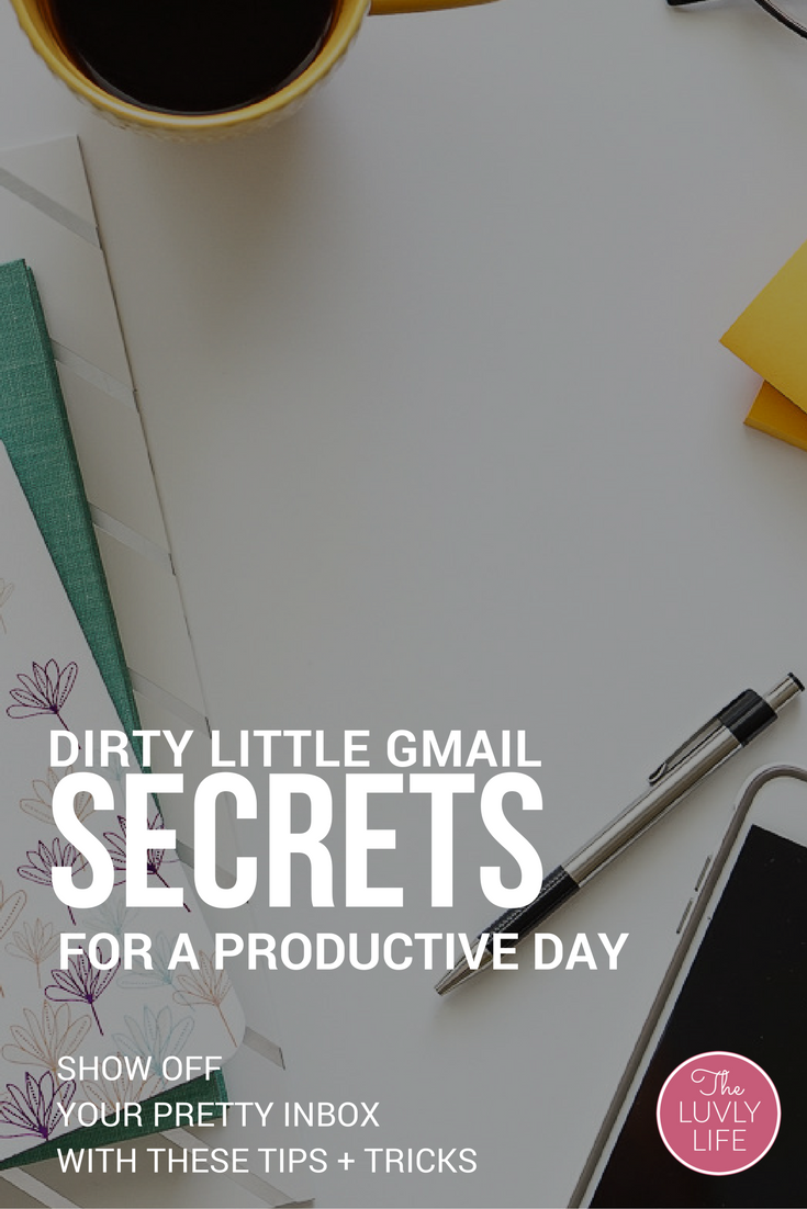 Declutter your digital life and get out of underneath your inbox with these dirty little productivity secrets. Know what to read, what to file, and what to toss.