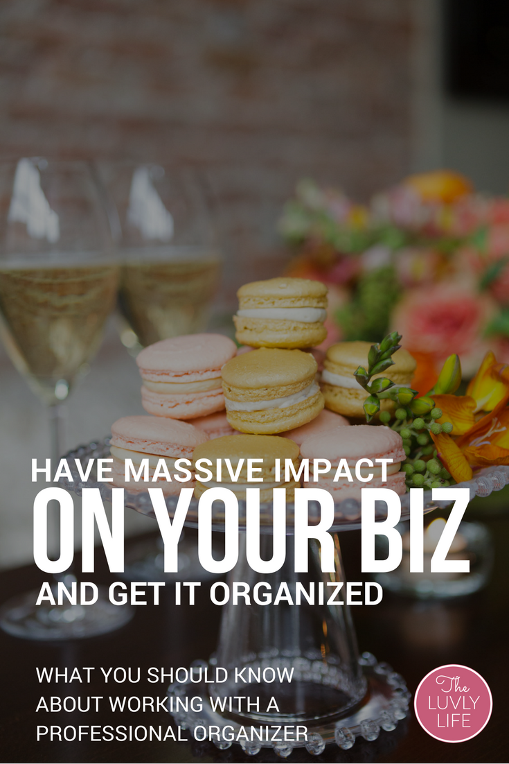Learn how working with a professional organizer can streamline your business and explode your revenue. Click through to learn more.