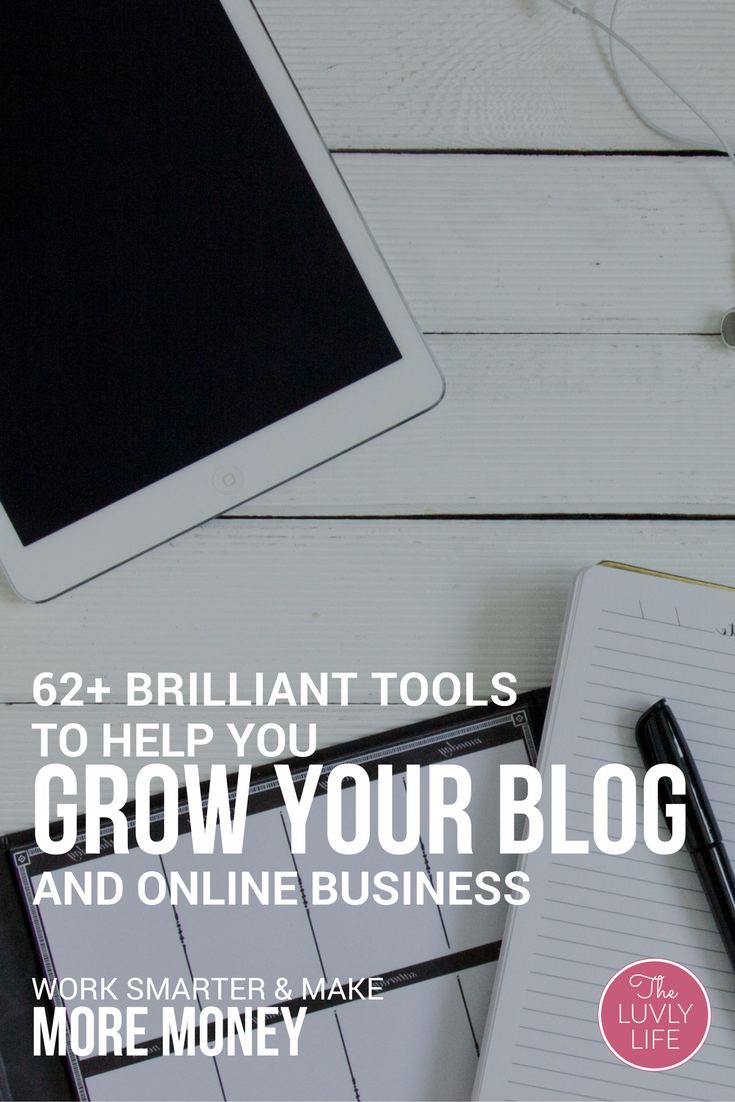 This is the biggest and best collection of tools available, from the experts who have experienced the success you're craving, to help you grow your blog and online business. Learn from these experts to work smarter & make more money. Click through to read on and get your resources.