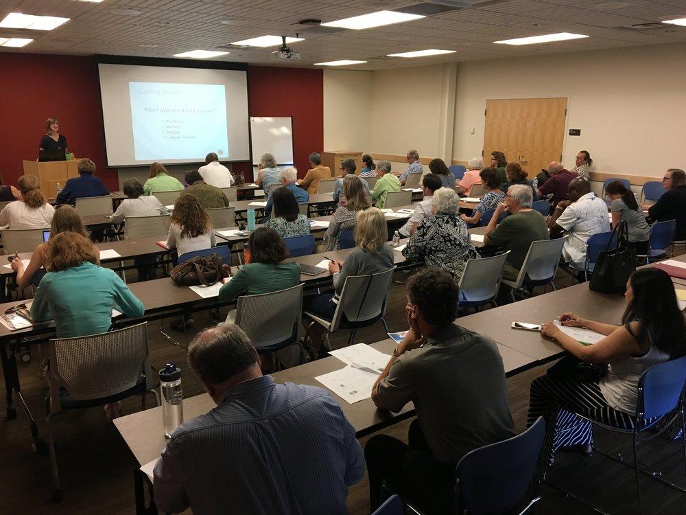 Presentation for SCORE (small business mentoring program)