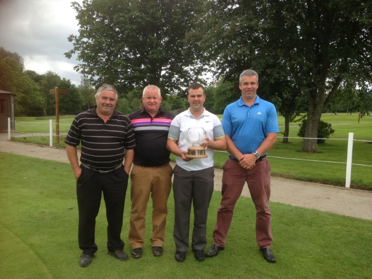Peter Scott, Paul Parry, Gareth Davies, Carl Lloyd - Millenium Trophy winners 2016