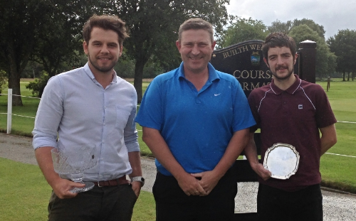 From left: Tom Mills, Chris Offa (Club Captain), Tim Iveson