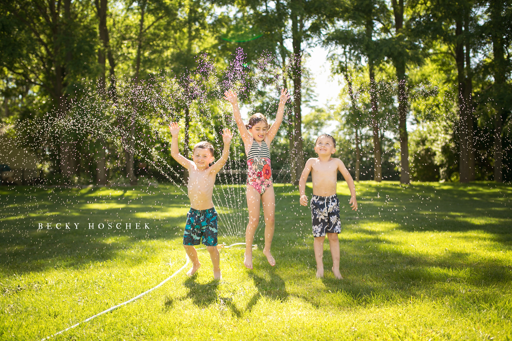 Bloomington Illinois Peoria Illinois child photographer, capturing the everyday moments of summer in childhood.
