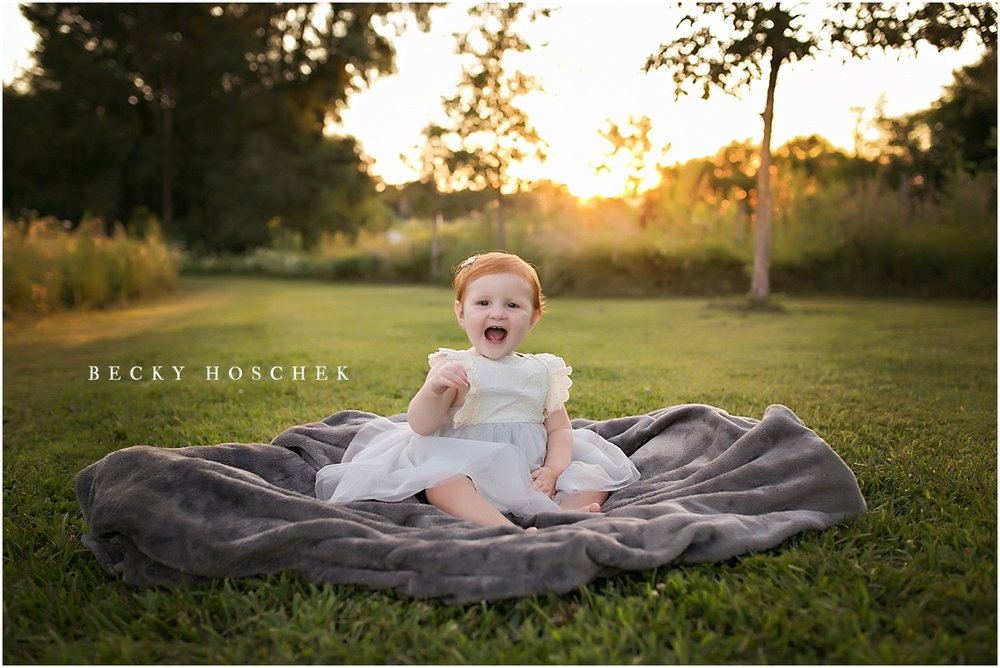 Bloomington IL family photographer sunset session