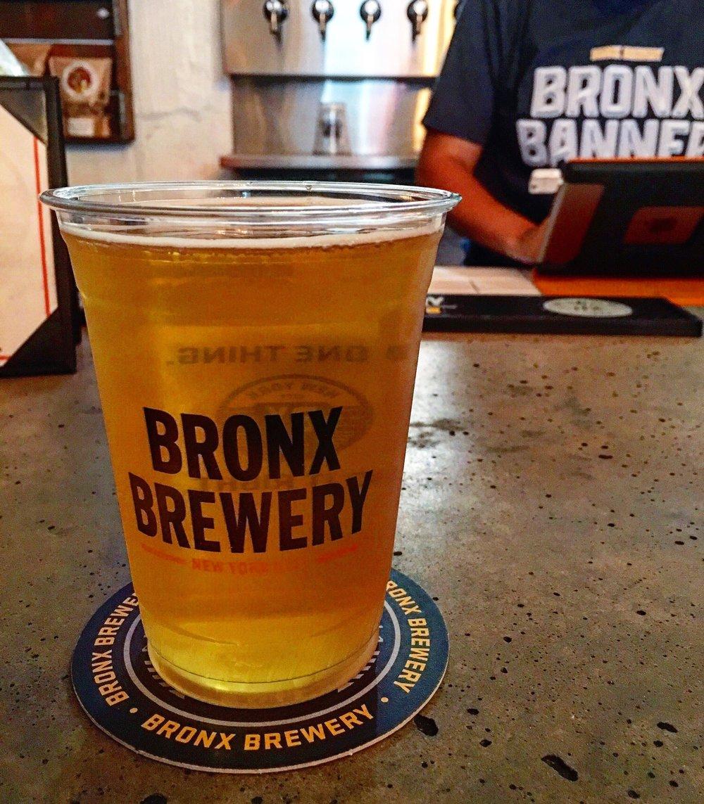 Bronx Banner Beer.
