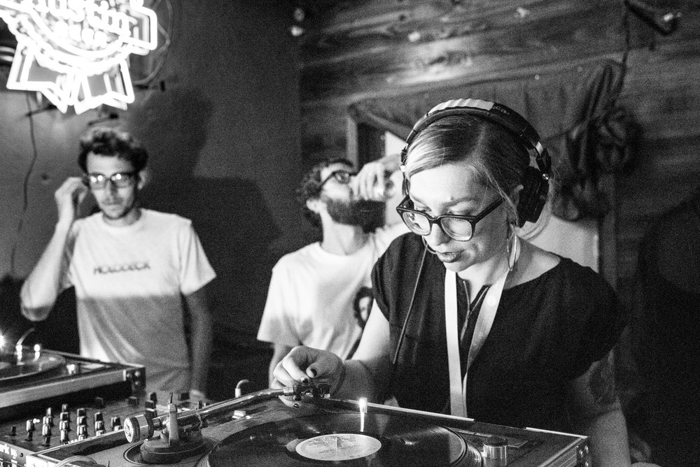 DJ Troller and tronotape at Hotel Vegas 03/16/17. Photo by Olivia Vale