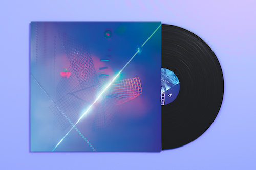 """Automelodi - Mirages au futur verre-brisé - 150g 12"""" black vinyl"""