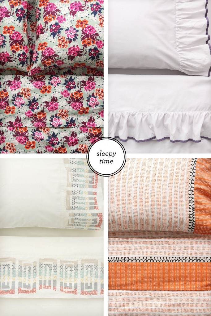 anthropologie bedding, mix matched bedding, carla fahden interior design