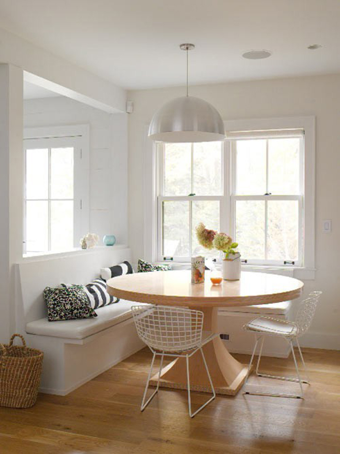 breakfast nook, interior design