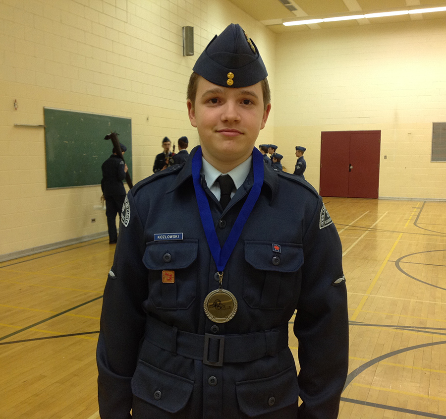 2014: LAC Kozlowski won 2nd place in Range Shooting competition.