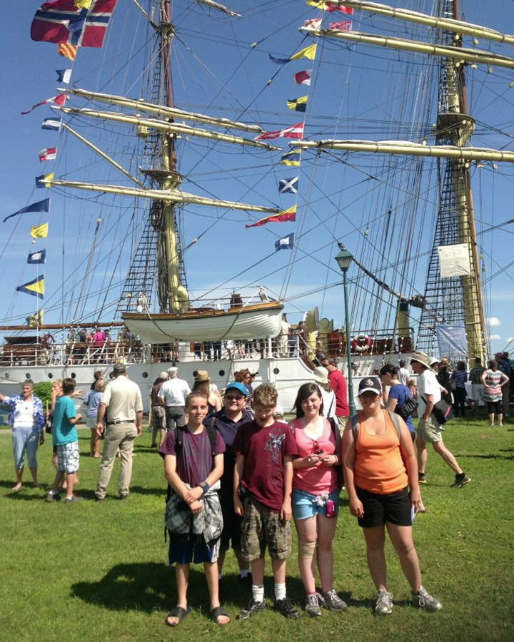 June 2013: Year End Trip to the Tall Ships Festival in Brockville.
