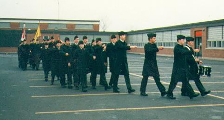 11 November 1987: Remembrance Day Parade.