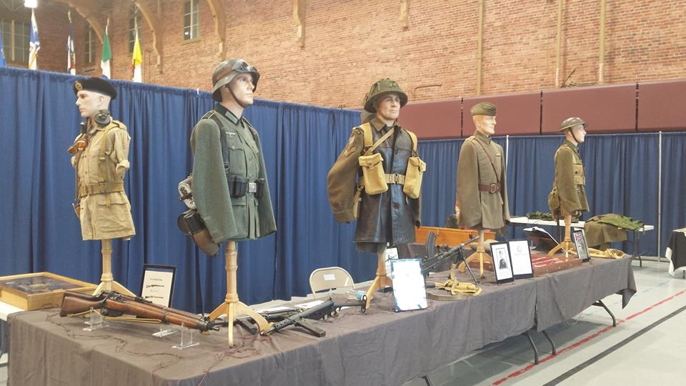 Legion branch 641 Historian will set up his exhibit with WW2 artefacts as a fundraiser for our D-Day trip. At our legion branch 423 on Saturday 26 May from 12.00 - 17.00.