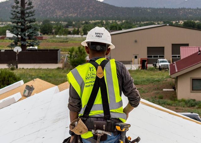 We take pride in our SAFETY FIRST policy! #hcnaz #safetyfirst #highcaliberconstruction #flagstaffconstruction