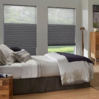 Cellular shades let sunshine in while minimizing the loss of heat