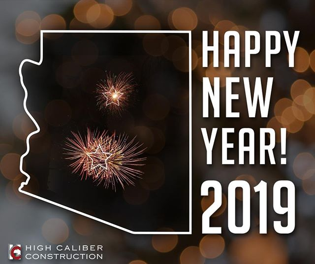 Happy New Year! 🎉⠀ ⠀ To kick off 2019, we are excited to announce that we are also building in the Valley! #hcnaz #highcaliberconstruction #flagstaffaz #sustainabledevelopment #heatedflooring #homeimprovement #commercialconstruction #homeconstruction #customkitchen #custombathroom #energyefficiency #homeremodel
