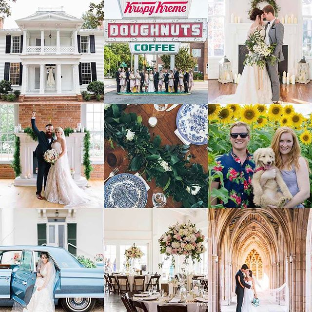 What a year! We can't wait to shower more deserving couples with love in 2018! #2017bestnine