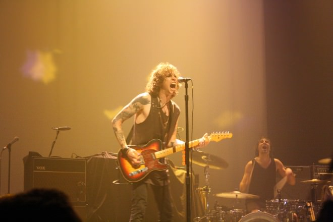 CONCERT REVIEW: CULT, AGAINST ME! @ TERMINAL 5: JUNE 8, 2012