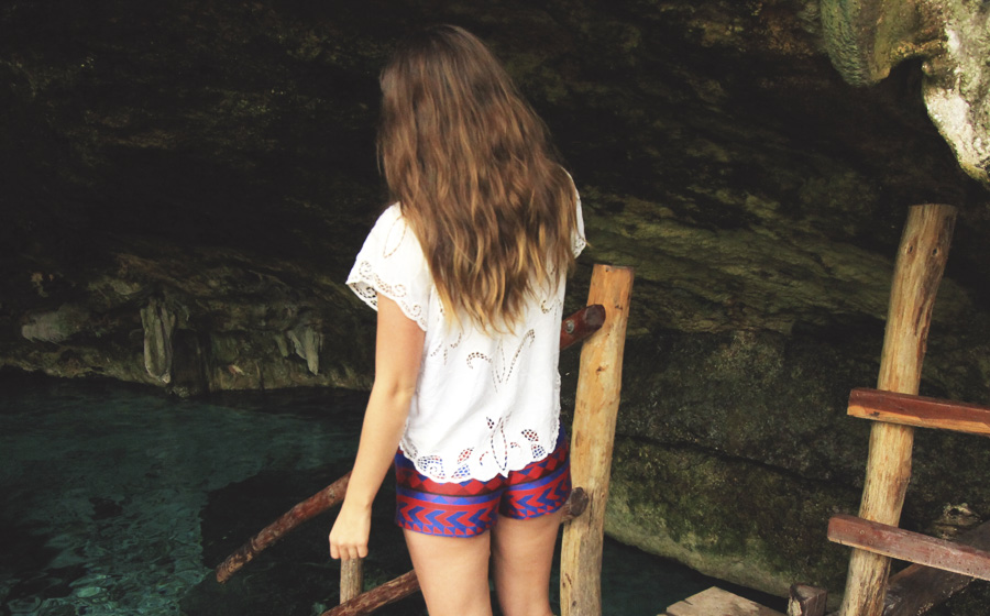 cenote playa del carmen patterned ikat jacquard shorts