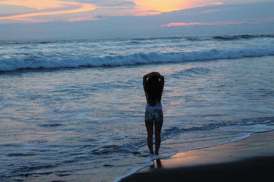sunset, beach, zara, tropical, brandy melville