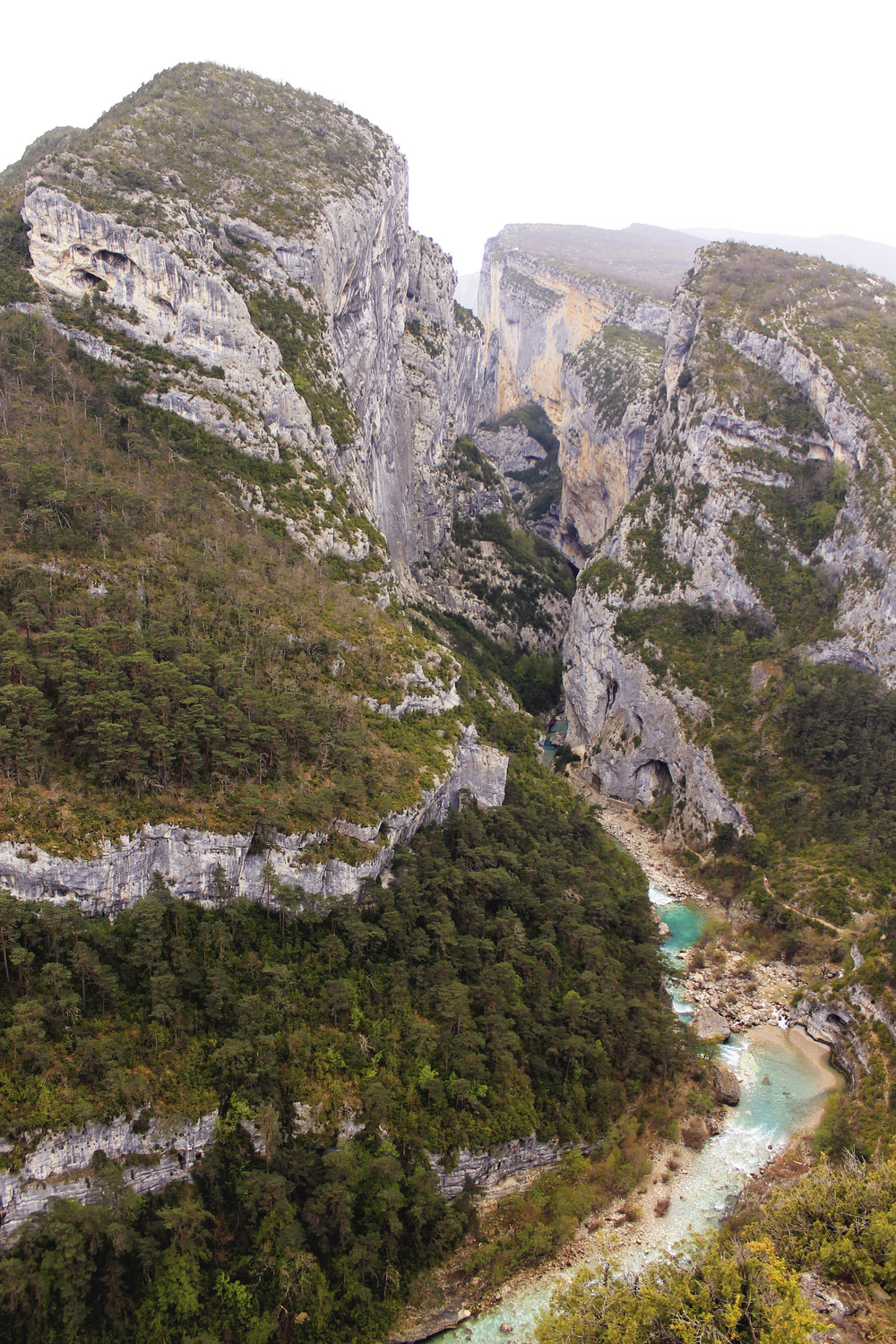 canyon du verdon france grand hike point sublime