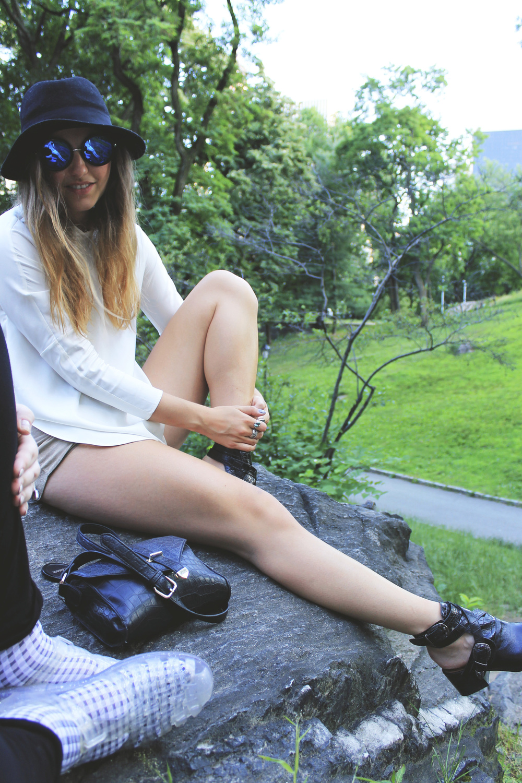 kobe husk millenium boots croc embossed buckle black central park