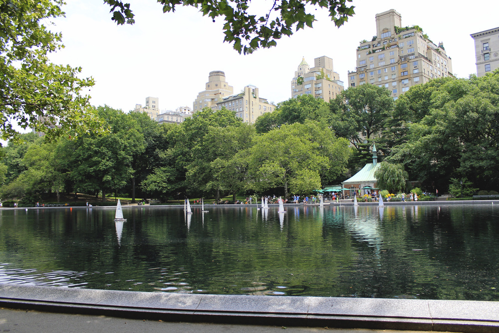 central park boat pond new york city