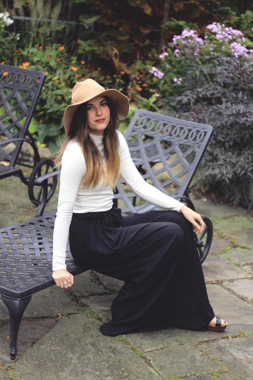 zara wide leg palazzo pant trousers style toronto