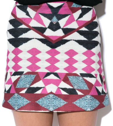 minkpink sparks fly mini skirt